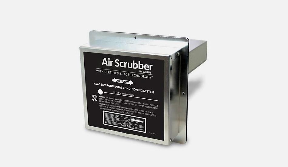 air scrubber installation